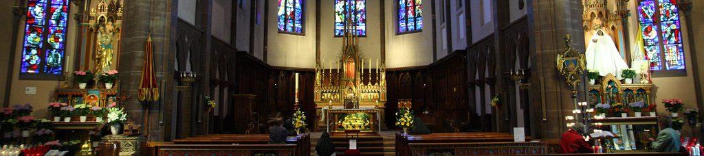 Basilique Notre dame de Marienthal